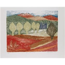 Ruth Kerkovius, Young Leaves of May, Lithograph