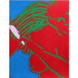 George Segal, Woman Brushing Her Hair from New York Ten Portfolio, Serigraph