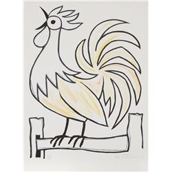 Bob Stanley, The Rooster 2, Serigraph
