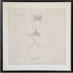 Th??ophile Alexandre Steinlen, Nu, Soft-ground Etching