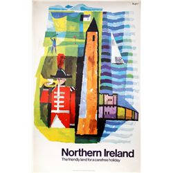 Travel Poster, Northern Ireland, Poster