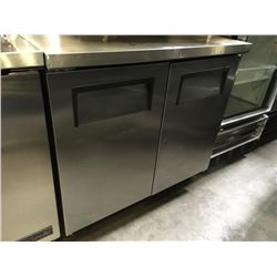 True 36  2 Door Worktop Refrigerator