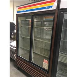 True 2 Sliding Glass Door Merchandisers