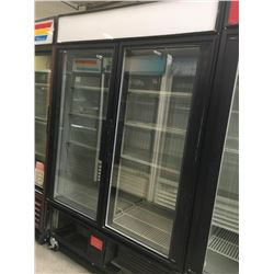 True 2 Glass Door Freezer