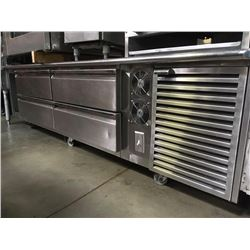 All S.S Drawer Chef Base w/ Frame
