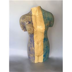 John Allen, Rags to Riches, Ceramic Sculpture