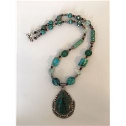 Bonnie Kelm / Bella Kaye Designs, Old Turquoise Trail Necklace