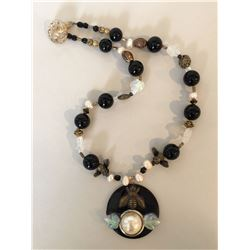 Bonnie Kelm / Bella Kaye Designs, Save The Bees Necklace