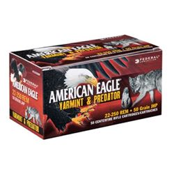 FED AM EAGLE V& P 22-250 50GR 50/250 Rounds