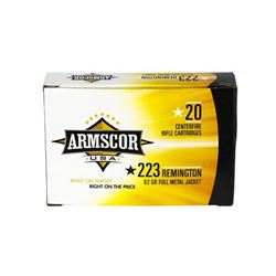 ARMSCOR 223REM 62GR FMJ - 500 Rounds