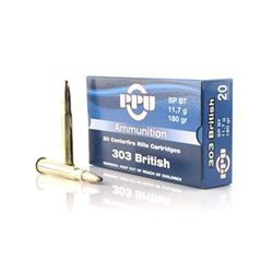 PPU 303 BRITISH SP 180GR - 200 Rounds