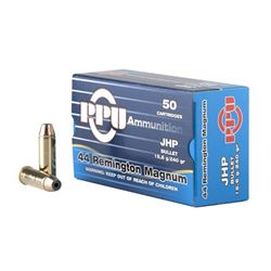PPU 44MAG JHP 240GR - 250 Rounds