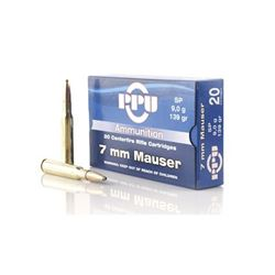 PPU 7MM MAUSER SP 139GR - 200 Rounds