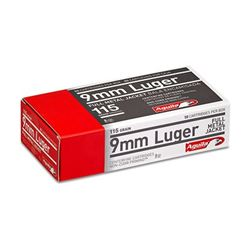 AGUILA 9MM 115GR FMJ - 500 Rounds