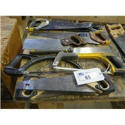 LOT OF SAWS