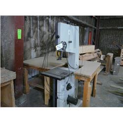 "CRAFTEX CX101 2013 1.5HP 17"" WOOD BAND SAW"