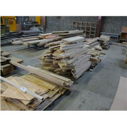 ROW OF WOOD STOCK