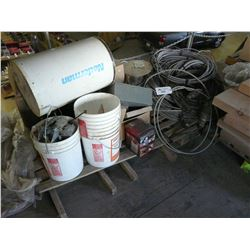 2 PALLETS OF  ELECTRICAL
