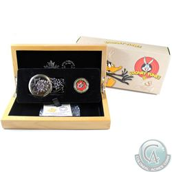 2015 Canada $100 14Kt Bugs Bunny and Friends Looney Tunes TM Gold Coin with Pocket Watch