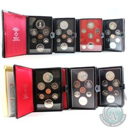 1973-1980 Canada Proof Double Dollar Set Collection. You will receive one of each Set released betwe