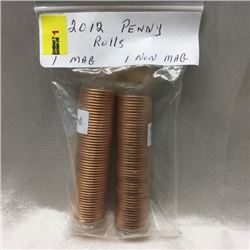 2012 Canada One Cent Rolls