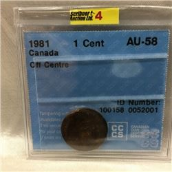 1981 Canadian One Cent