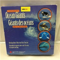 RCM 1998 Canada's Ocean Giants Set
