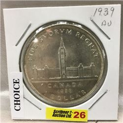 Canada Silver Dollar 1939 (CHOICE of 2)