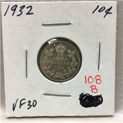 Canada Ten Cent (CHOICE of 4)