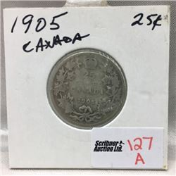 Canada Twenty Five Cent (CHOICE of 3)