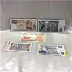 Foreign Notes/Bills (6)