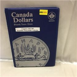 Canada Proof-Like Nickel Dollar Collection (20) (Uni-Safe Folder)