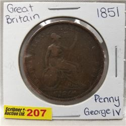 Great Britain Penny George IV