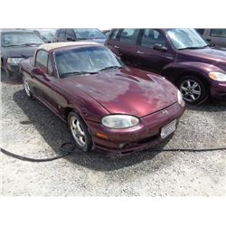 MAZDA MX-5 MIATA 2000 T-DONATION