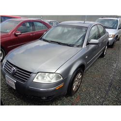 VW PASSAT 2002 APP  DUP/T-DON