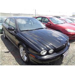 JAGUAR X-TYPE 2002 T-DONATION