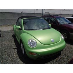 VW BEETLE 2004 O/S T-DONATION