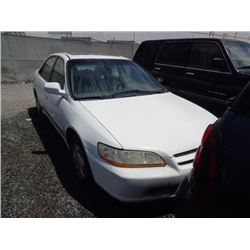 HONDA ACCORD 1999 SALV T/DONATION