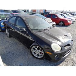 DODGE NEON SRT4 2004 APP  DUP/T-DON