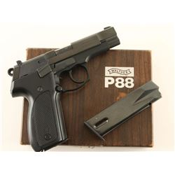 Walther P88 9mm SN: 004610