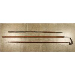 Lot of 3 Pole Arms