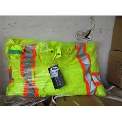 New Armor Wise Lime Safety Coat - Size 5X
