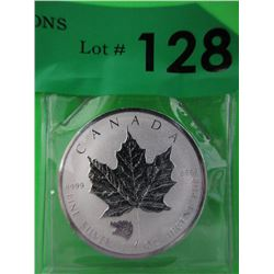 .9999 Fine Silver 2016 Grizzly Maple Leaf $5 Coin