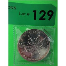 1 Oz. .9999 Fine Silver 2006 Maple Leaf $5