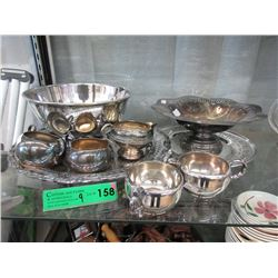 9 Pieces of Silver Plate