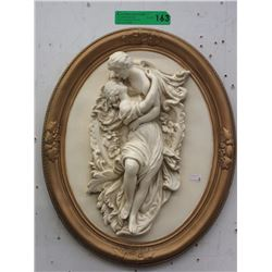 2D Porcelain Wall Plaque
