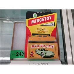 1950s Midge Toy Die-Cast Cadillac Taxi