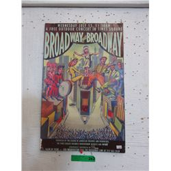 Broadway on Broadway Theater Sign
