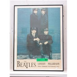 "1963 ""The Beatles"" Poster"