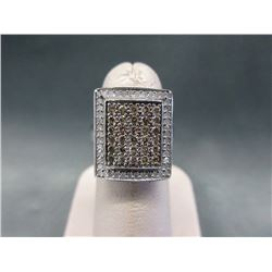 10KT White Gold 1.59 CTW Diamond Ring